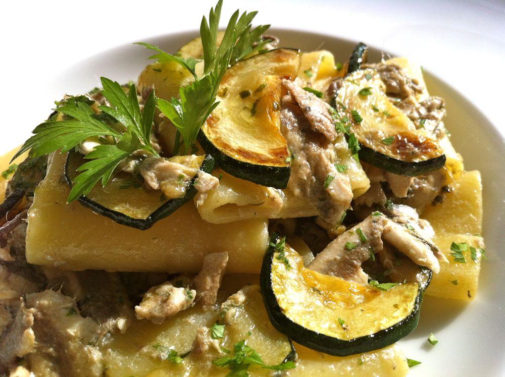 paccheri zucchine e alici1