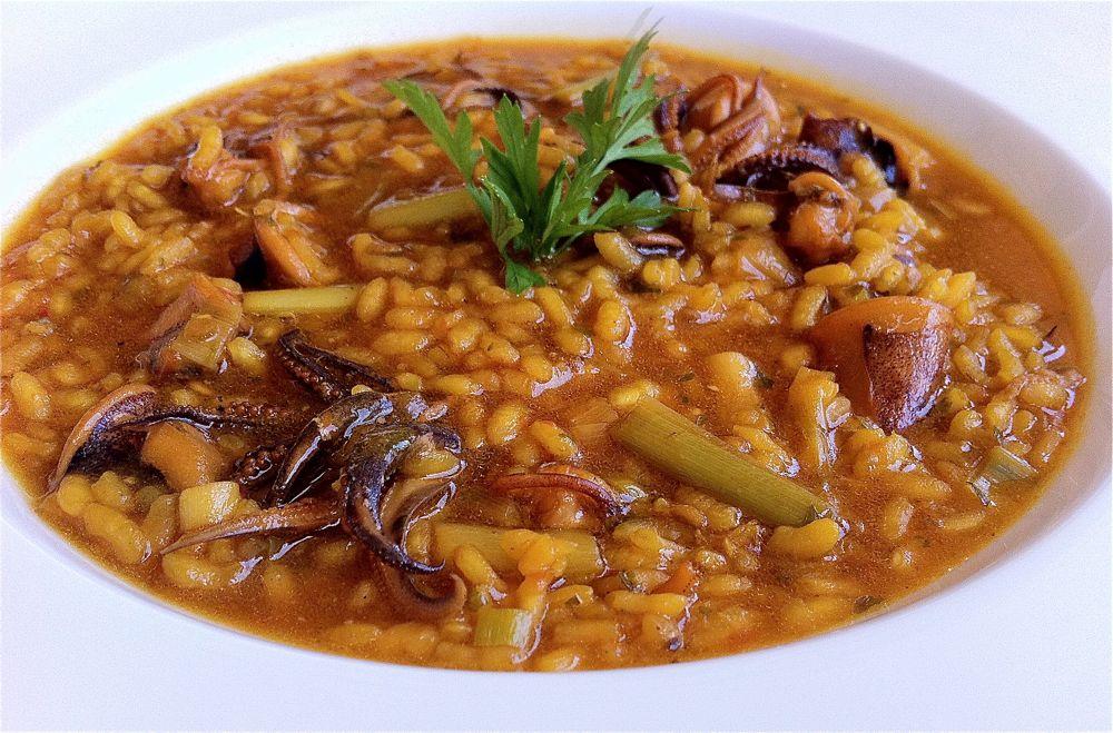 riso moscardini e aglio tenero1
