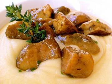 crema di cavolfiori con porcini1